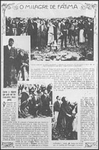 El milagro del sol fue noticia en los periódicos de Portugal