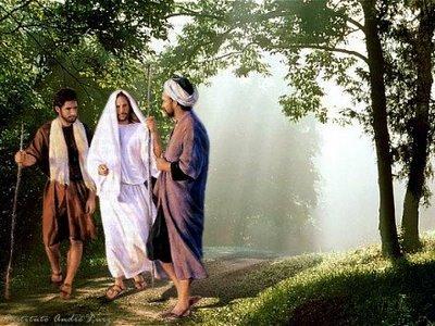 Resultado de imagen para JESÚS Y LOS DISCIPULOS DE EMAUS