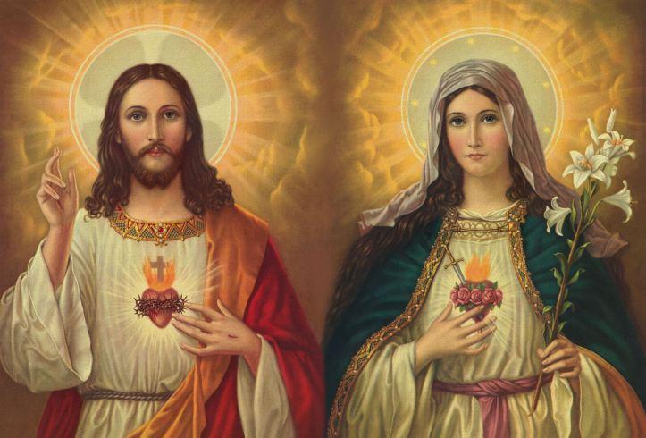 SacredheartofJesusandImmaculateHeartofMary