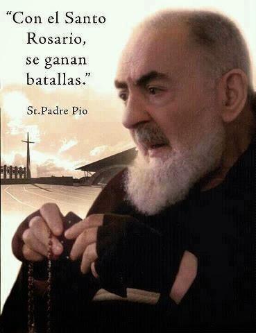 PADRE PÍO - SANTO ROSARIO