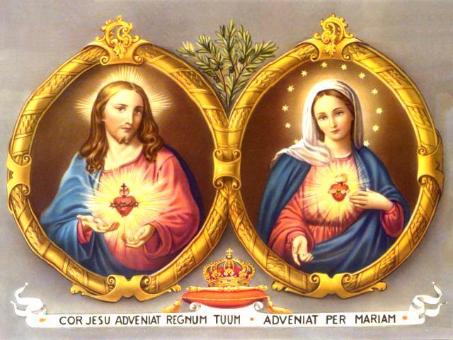 Sacratísimos Corazones