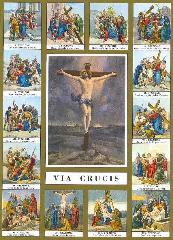Promesas Para Los Devotos Del Via Crucis Caminando Con